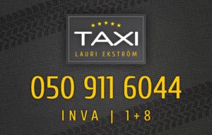 Taxi Lauri Ekström.ai